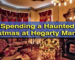 Spending a Haunted Christmas at Hegarty Mansion in Clearfield County