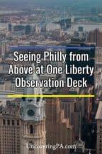 Philadelphia from One Liberty Observation Deck