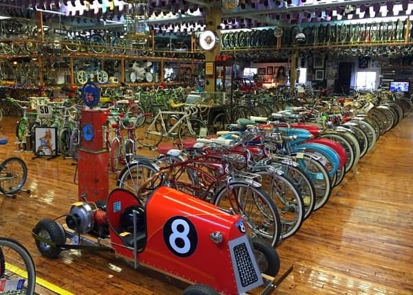 Bicycle Heaven is a free museum in Pittsburgh, Pennsylvania.