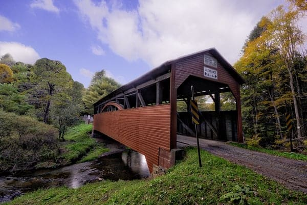 Cogan House Covered Bridge, Lycoming County, Pennsylvania