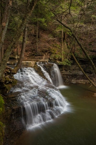 How to get to Freedom Falls in Venango County, Pennsylvania.