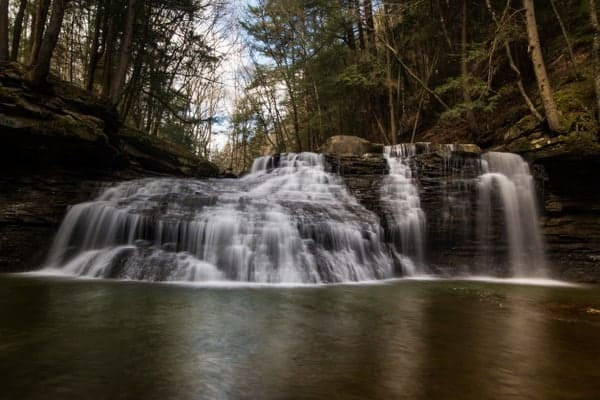 Directions to Freedom Falls in northwestern Pennsylvania