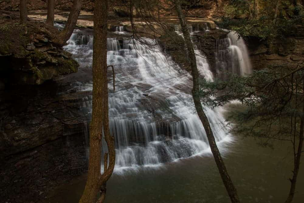 How to get to Freedom Falls in Venango County PA