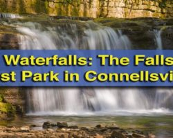 Visiting the Waterfalls of East Park in Connellsville