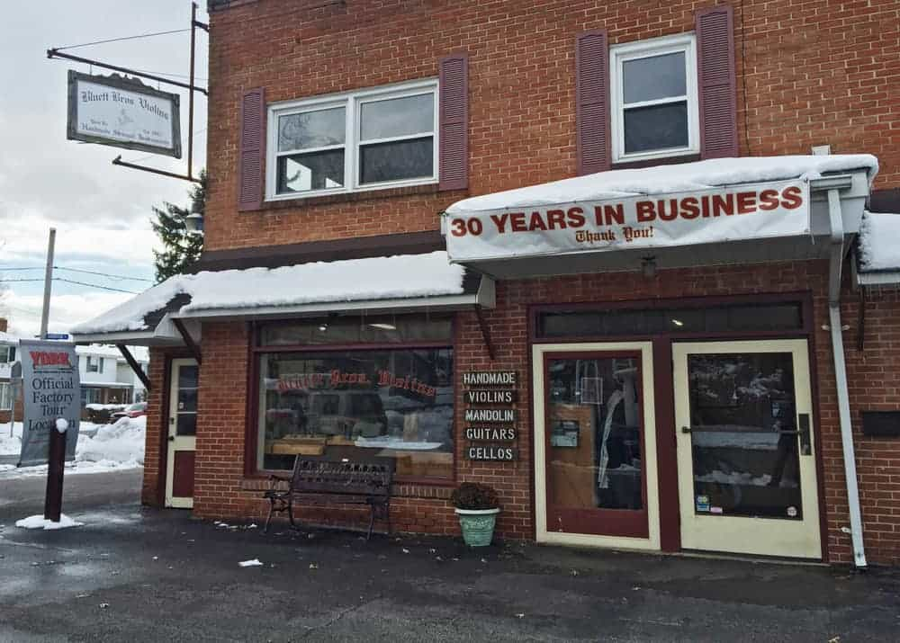 Bluett Bros. Violins in York, Pennsylvania