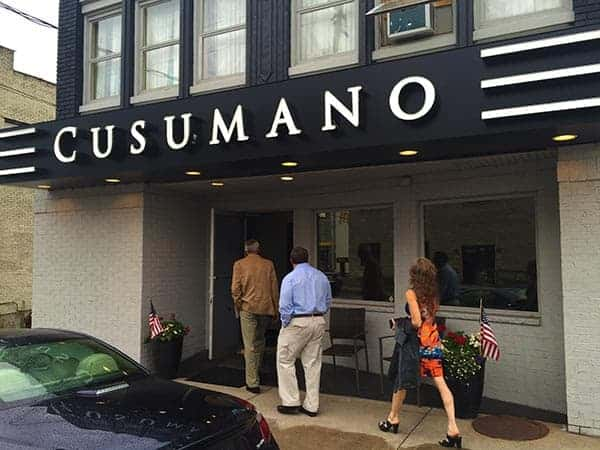 Cusumano's in Old Forge, Pennsylvania