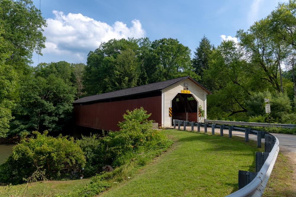 McGee's Mill Covered Bridge in Clearfield County PA