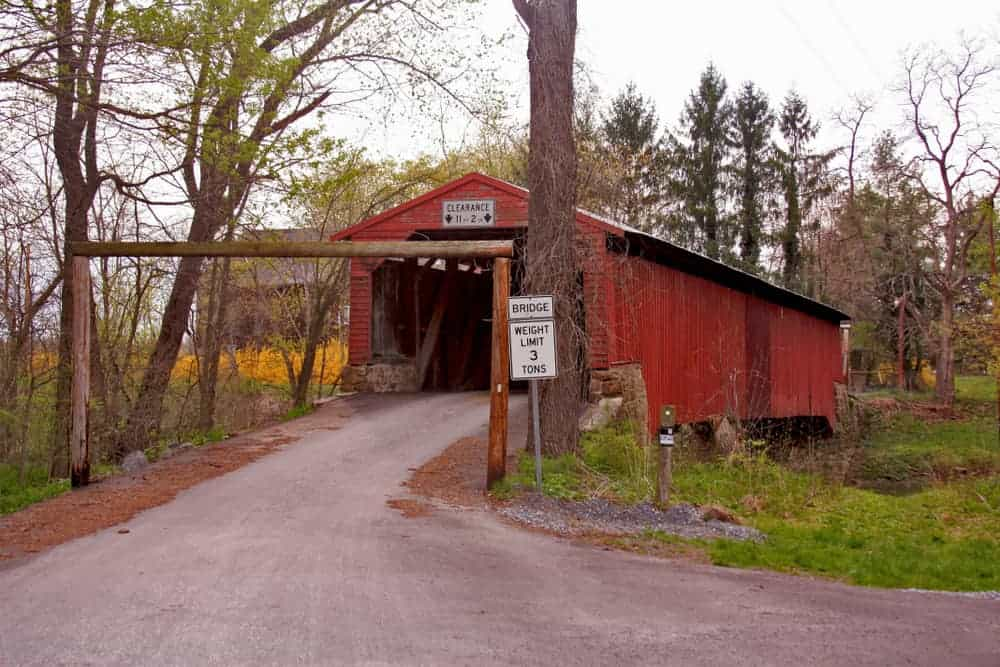 Ramp Covered Bridge in Cumberland County PA