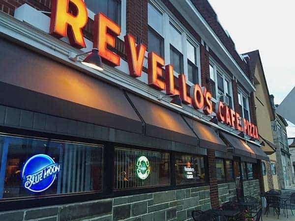 Revello's in Old Forge, Pennsylvania