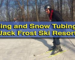 A Beginner's Thoughts on Skiing and Snow Tubing at Jack Frost Ski Resort