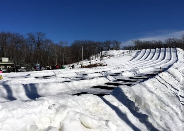 Snow Tubing at Jack Frost Ski Area
