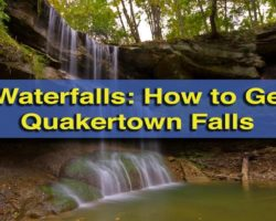 Pennsylvania Waterfalls: How to Get to Quakertown Falls near New Castle