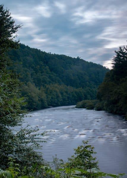 Lehigh River in Lehigh Gorge State Park