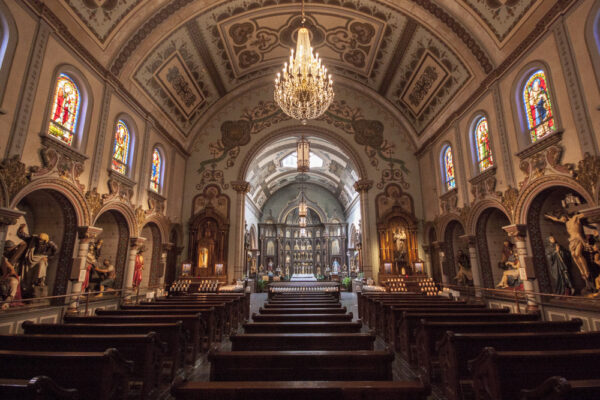 Visiting Saint Anthony's Chapel in Pittsburgh, Pennsylvania