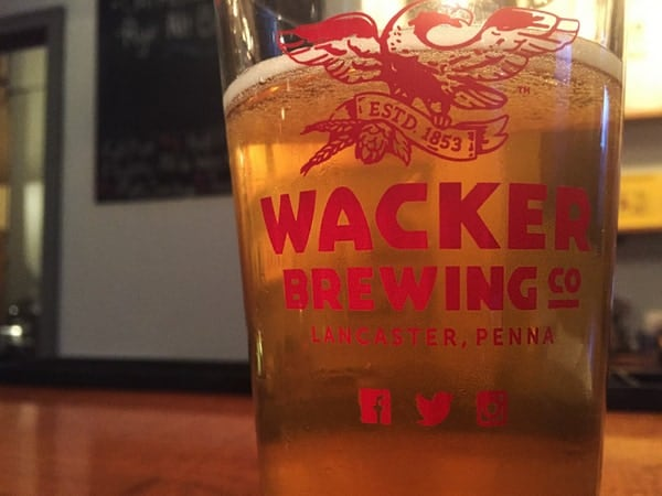 Wacker Brewing Company in Lancaster, Pennsylvania