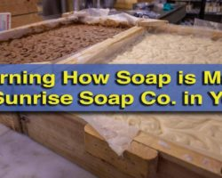Learning How Soap is Made at Sunrise Soap Company in York