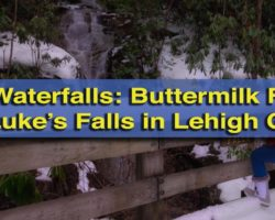 Pennsylvania Waterfalls: Visiting Luke's Falls and Buttermilk Falls in Lehigh Gorge State Park