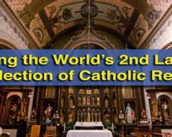 Visiting the World's Second Largest Collection of Catholic Relics at St. Anthony's Chapel in Pittsburgh
