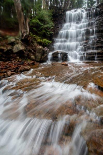 Buttermilk Falls near Wilkes-Barre, Pennsylvania
