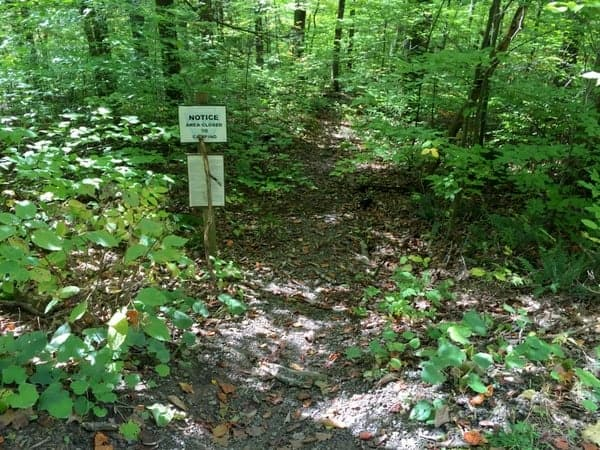 How to get to mill creek falls loyalsock state forest