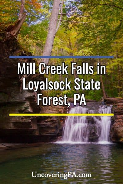 Mill Creek Falls in Loyalsock State Forest