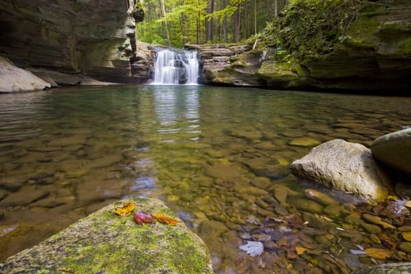 Mill Creek Falls near Hillsgrove, Pennsylvania