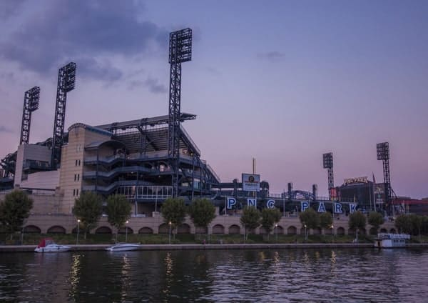 PNC Park in Pittsburgh from the Gateway Clipper