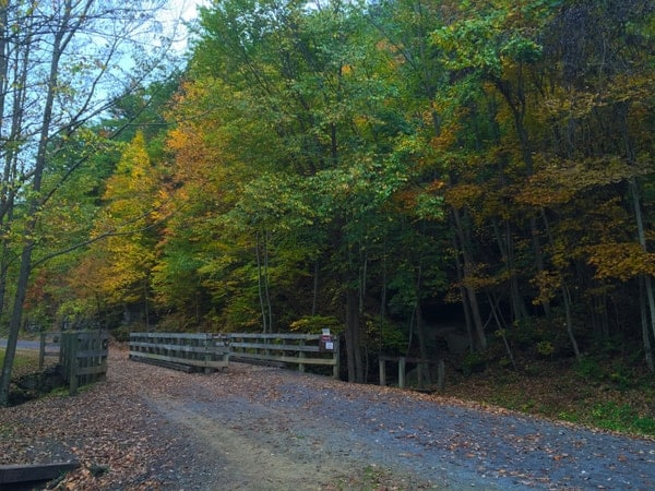 Pine Creek Rail Trail in Wellsboro, PA