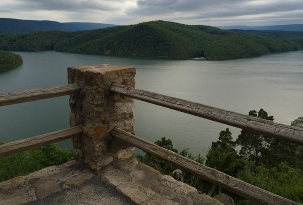 Overlooking Raystown Lake in Huntingdon County, PA