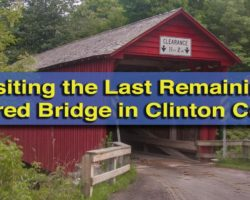 Visiting the Last Remaining Covered Bridge in Clinton County, Pennsylvania