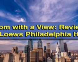 A Room with a View: Reviewing My Stay at the Loews Philadelphia Hotel