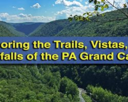 Exploring the Trails, Vistas, and Waterfalls of the Pennsylvania Grand Canyon