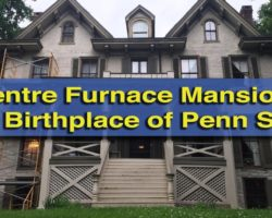 Visiting Centre Furnace Mansion: The Birthplace of Penn State University