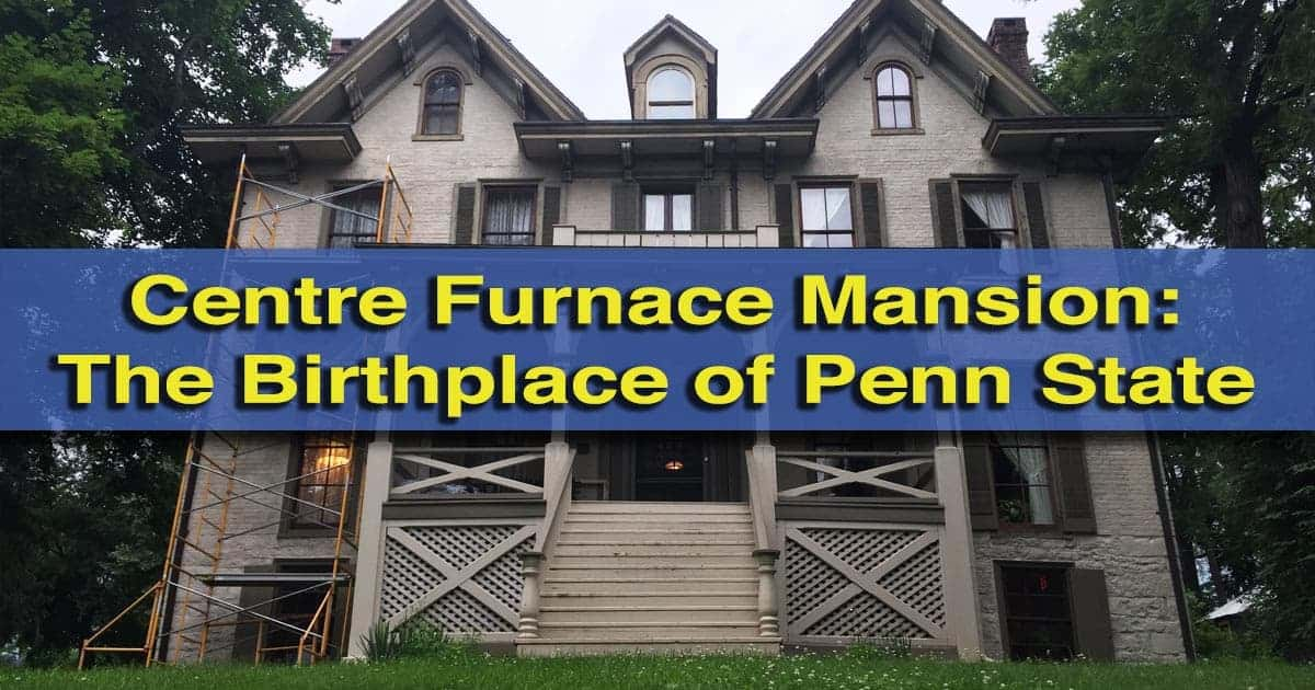 Visiting the Centre Furnace Mansion in State College, Pennsylvania