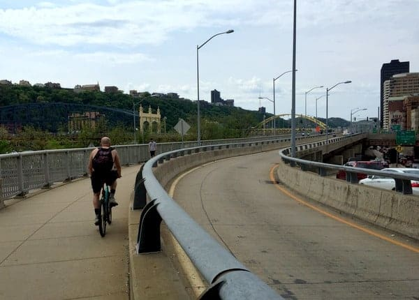 GAP Bike Trail in PIttsburgh