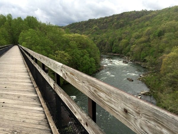 Ohiopyle High Bridge on GAP Trail.