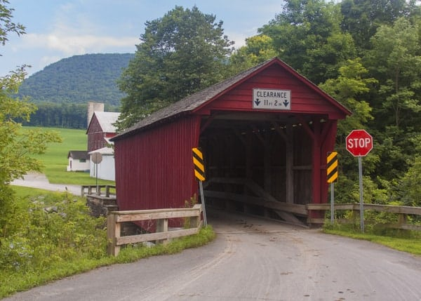 How to get to Logan Mills Covered Bridge in Clinton County, Pennsylvania