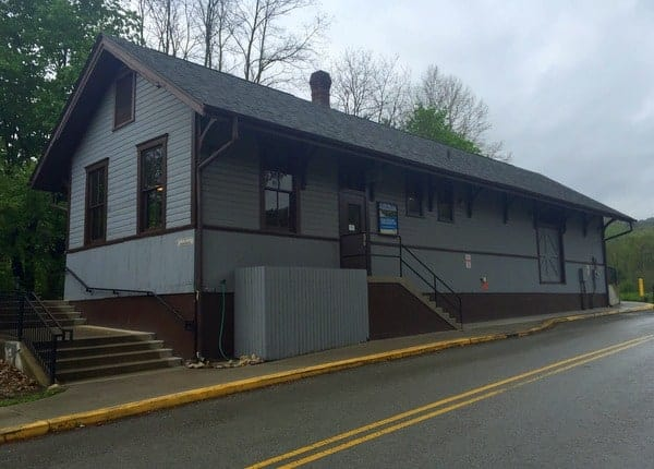 Ohiopyle Train Station on the GAP Trail