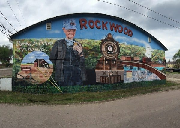 Rockwood Mural Trail Town GAP
