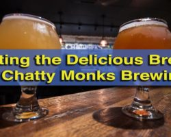 Tasting the Delicious Food and Brews at Chatty Monks Brewing in West Reading
