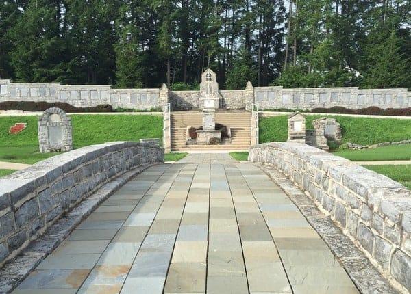 28th Infantry Division Shrine in Boalsburg, Pennsylvania.
