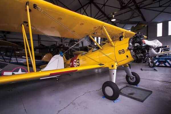 Boeing Stearman N2S-1 at the Mid-Atlantic Air Museum