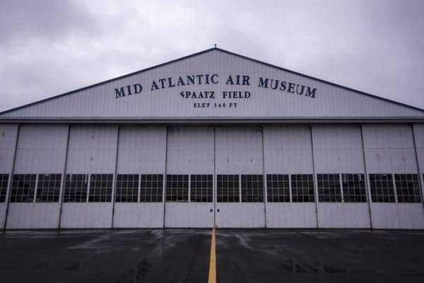 Mid Atlantic Air Museum in Reading, Pennsylvania