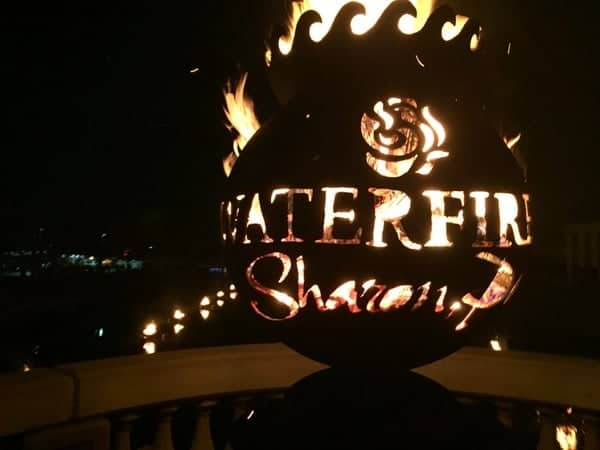 WaterFire in Sharon, Pennsylvania is one of the best things to do in PA in July