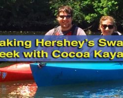 Kayaking Hershey's Swatara Creek with Cocoa Kayaks