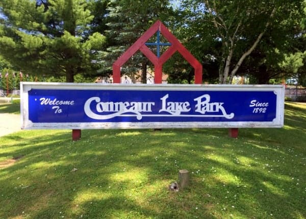 Entrance to Conneaut Lake Park in Meadville, PA