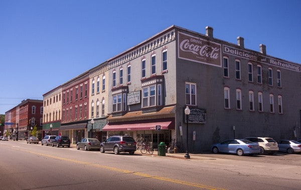 Visiting downtown Corry, Pennsylvania on PA Route 6