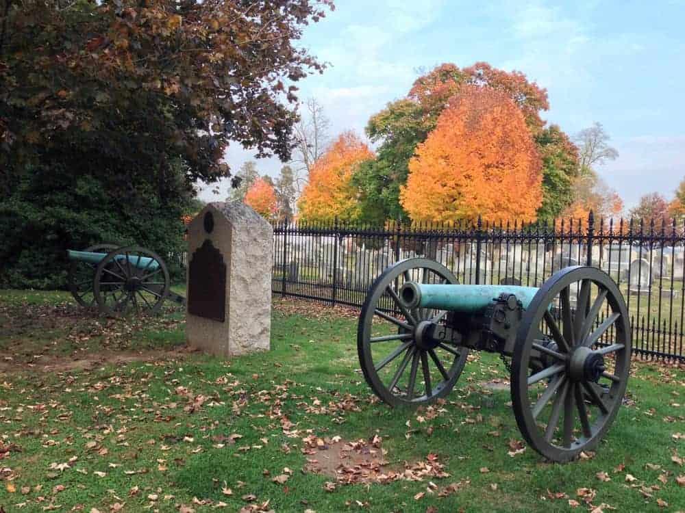 Visiting the Gettysburg National Cemetery in Gettysburg, PA