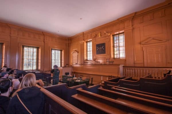 Court chambers in Independence Hall in Philly