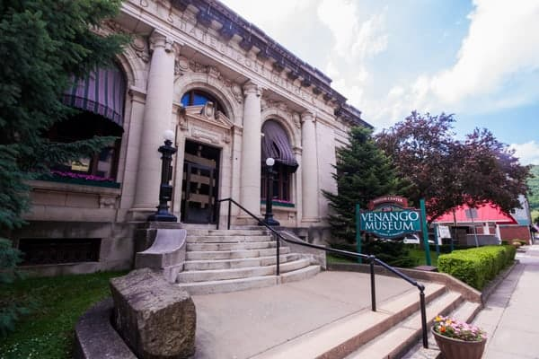 Venango County Museum of Art, Science, and Industry in Oil City, Pennsylvania